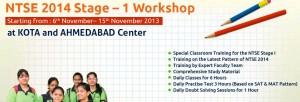 NTSE 2014 Stage-1 Workshop-ALLEN