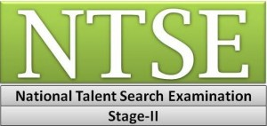 NTSE stage-2 exam