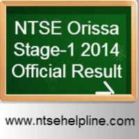 NTSE Orissa