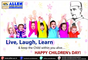 Happy Children's Day by ALLEN Team