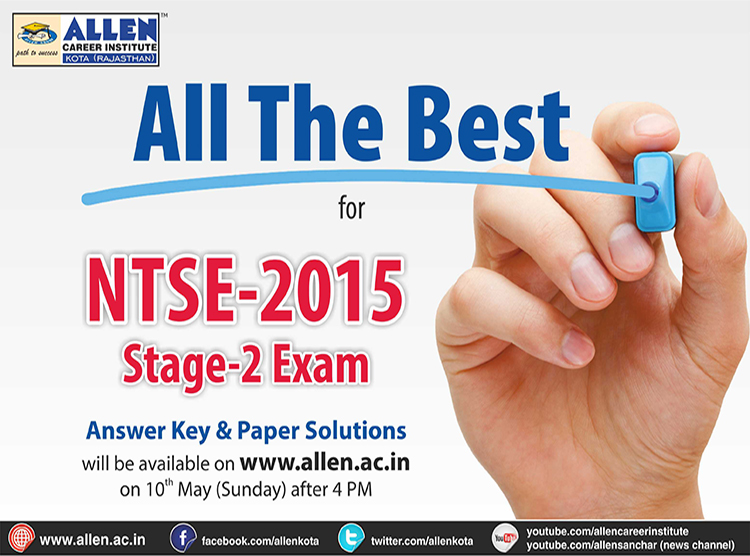 ntse stage 2 exam 2015 answer key