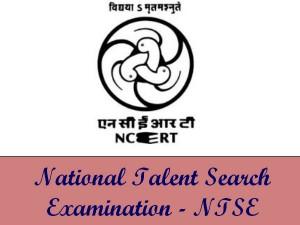 NTSE Exam 2016