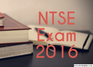 ntse exam 2016 result