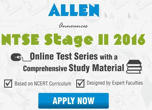 ALLEN NTSE Study Material
