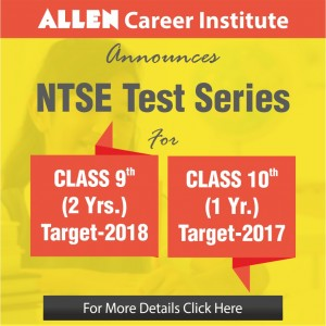 ntse test series for class 9 and 10