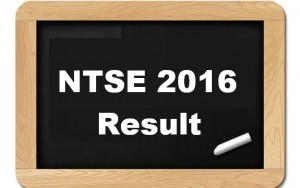 NTSE 2016 Final Result Declared